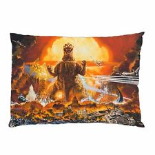 "AWESOME GODZILLA Zippered Pillow Case 16""x 24"" - 2 sides Cushion Cover"