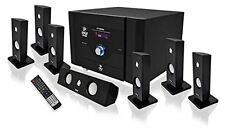 Pyle PT798SBA 7.1 Channel Home Theater System with Satellite Speakers, Ce...