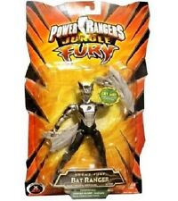 "Power Rangers Jungle 5"" Fury BAT Ranger New 2007 Factory Sealed Black"