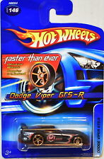 HOT WHEELS 2005 FTE DODGE VIPER GTS-R #146