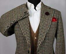 Harris Tweed Blazer Jacket Wedding Country Races 42R EXCEPTIONAL QUALITY 265