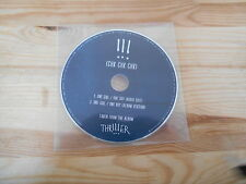 CD Indie Chk Chk Chk !!! - One Girl / One Boy (2 Song) WARP - cd only -