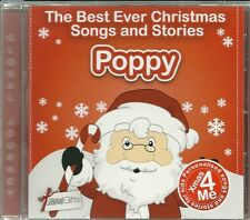POPPY - THE BEST EVER CHRISTMAS SONGS & STORIES  PERSONALISED CD