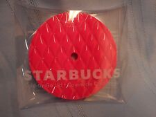NWT STARBUCKS HOT PINK QUILTED ACRYLIC SCREW ON TUMBLER COLD TO GO LID