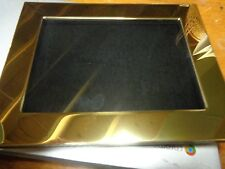 New 5 x 7  Gold Frame for Pins, Medals,ect