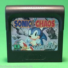 Sega Game Gear Sonic Chaos #n811