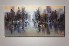 Large Modern Abstract hand-painted Art Oil Painting Wall Decor canvas Unframed