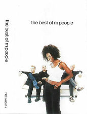 M People The Best Of M People CASSETTE ALBUM Electro, Jazzdance, House