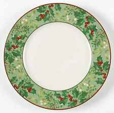 222 Fifth CHRISTMAS FOLIAGE Dinner Plate 8690062