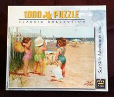 Sea Side Adventures 1000 pc Jigsaw Puzzle NEW SEALED Zolan Beach/Sand/Children
