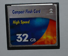 Carte mémoire 32 GB Compact FLash High speed carte CF pour Appareil photo numérique