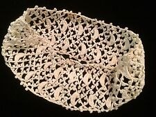 Antique Crochet Lace Around Remnant Salvage For Projects Repair Work Design