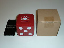 Supreme Red Ceramic Dice Money Bank Box Logo Bogo FW11 2011 DEADSTOCK
