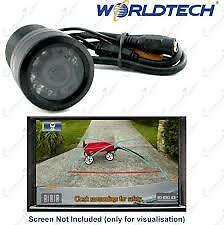 Worldtech Waterproof Car Rear View Night Vision Reversing Parking Camera