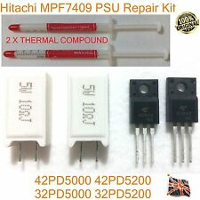Hitachi repair kit MPF7409 HA01262 MPF7409L PCPF0038 2SK2843 K843 37PD5000 HSINK