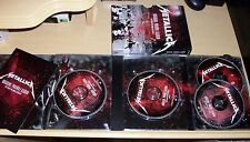 Metallica - Orgullo, Pasion, y Gloria - 2 DVDs + 2 CDs - New/Sealed Out of Print