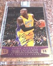 2013-2014 Panini Replay Kobe Bryant ON CARD Auto 2/2 Lakers Limited Print