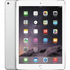 Apple iPad Air 2 64GB, Wi-Fi + (Unlocked), 9.7in - Silver - 1 YEAR WARRANTY
