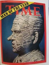 RICHARD M NIXON MAN OF THE YEAR TIME MAGAZINE JANUARY 3 1972 PHOTO NOT MAGAZINE