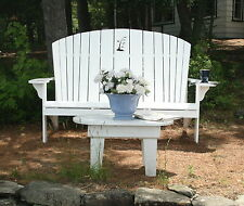 Adirondack Family Bench / Love Seat Plans - Full Size Patterns