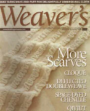 Weaver's magazine 44: FINAL ISSUE; more scarves; cloque