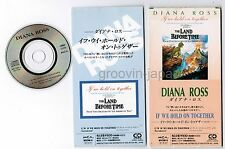 "DIANA ROSS If We Hold On~THE LAND BEFORE TIME JAPAN 3"" CD MVDM-6 Extra Sleeve"