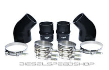 2002 FITS Dodge Cummins® INTERCOOLER BOOT KIT SILICONE BOOT KIT STAINLESS CLAMPS