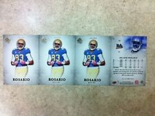 Nelson Rosario UCLA Bruins 4-card Rookie Lot 2012 SP Authentic