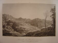 Grande gravure de la Bataille de RIVOLI  Défense armée française à FERRARA 1797