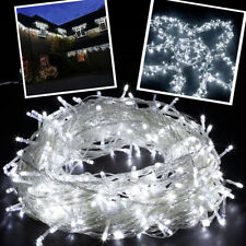 30M 300 LED Safe Voltage Christmas Wedding Party Day White Fairy String Lights
