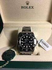 New Rolex Men Submariner Date Black Dial Ceramic 116610LN NIB Authorized Dealer