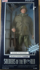 Soldiers of the World WW 2 RANGER - 2nd battalion - 12 inch figure GI Joe size