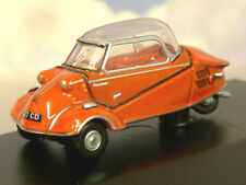 NICE OXFORD DIECAST 1/76 MESSERSCHMITT KR200 BUBBLE CAR ROUGE SARDE RED 76MBC001