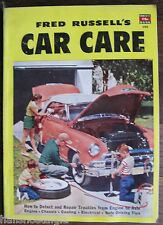 "1952 ""Car Care"" Magazine, A Fawcett Book 150, How To Detect & Repair Troubles"
