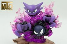 NEW POKEMON GO Collectibles Ghost GK PU Resin Limited Figure Statue