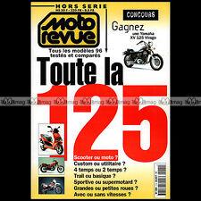 MOTO REVUE HS 1-b ★ SPECIAL 125 1996 ★ HONDA REBEL CG NSR NX YAMAHA SR XV VIRAGO