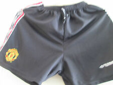 Manchester United 1998 Treble Home Football Shorts Small Waist /sh