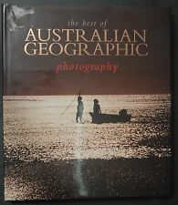 The Best Of Australian Geographic Photography hardcover book MINT