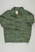 NEW MENS A.P.C. APC RUE MADAME PARIS CAMO MILITARY GREEN JACKET L $535 #36-48668