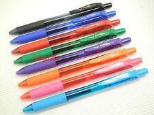 8 Colours Pentel EnerGel BL107 0.7mm Metal Tip Rollerball Gel Ink Pen Japan