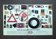 H710 - Advertising Pubblicità -1964- NELLE STAZIONI ESSO TROVATE TUTTO