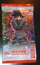 DRAGON BALL Z GT DBZ HEROES PROMO PACK CARD PRISM CARTE GDPC-02 GOKU SEALED o/