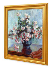 DecorArts Chrysanthemums Claude Monet Reproduction  Museum Quality Framed Art