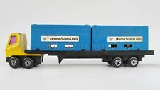 1977 Matchbox Superfast United States Lines Articulated PSI Trailer 1/64