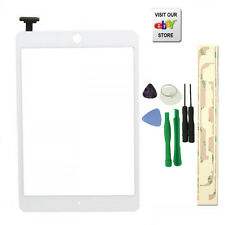 White Touch Screen Digitizer Front Glass for IPAD MINI 1&2 Panel Replacement