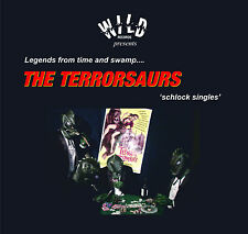 THE TERRORSAURS Schlock Singles CD album Wild Reords 2014 new sealed surf rock