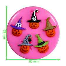 Trick or Treat Halloween Pumpkins Mould by Fairie Blessings