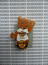 Hard Rock Cafe Osaka Japan 2009 - Classic white T shirt Series Bear Pin #2