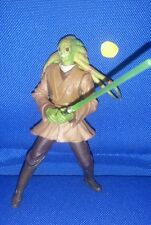 Star Wars Kit Fisto Jedi Master 2002 AOTC figure loose 100% Complete