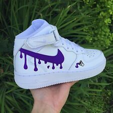 SIZE 9.5 Nike Air Force 1 Retro ID XI CUSTOM DIRTY SPRITE Bape OVO Jordan